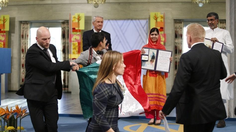 Mexicano Interrumpe Premio Nobel de la Paz