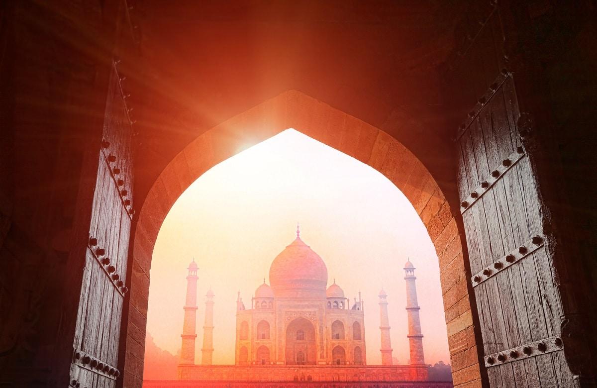 Luna de Miel en el Taj Mahal