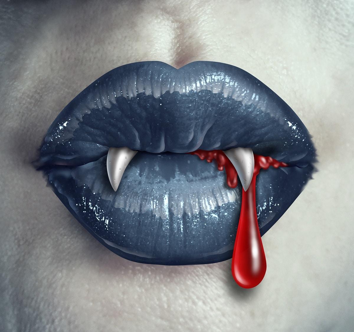 qué pasa si un vampiro muerde a un retrasado