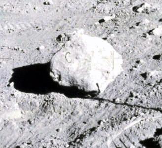 la roca c de la misión de apollo