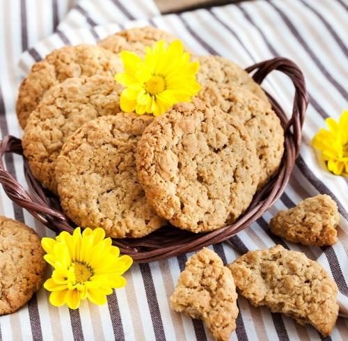 receta galletas de avena y cacahuate