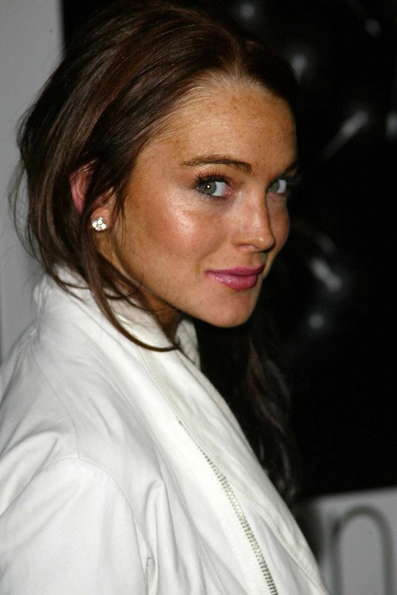 fotos retocadas de Lindsay Lohan