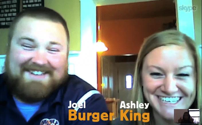 la boda de burger king
