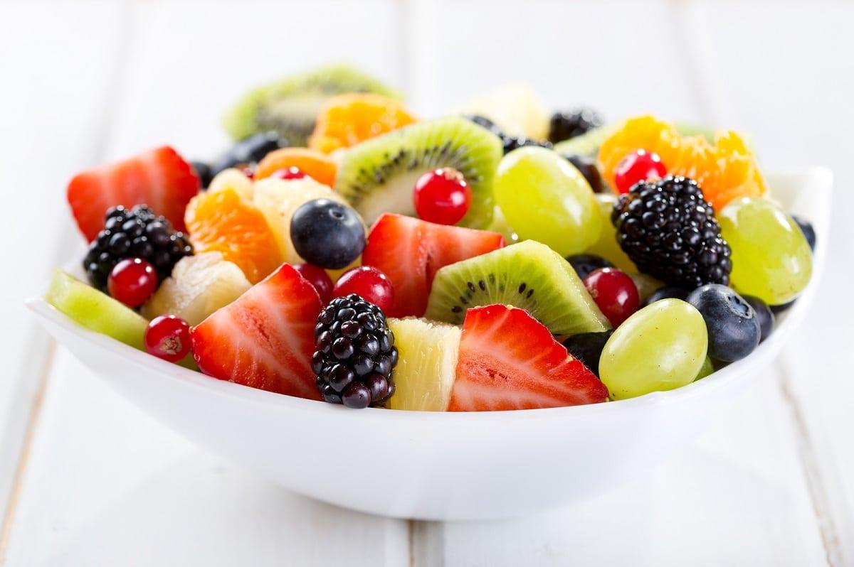 frutas bajas en azúcar