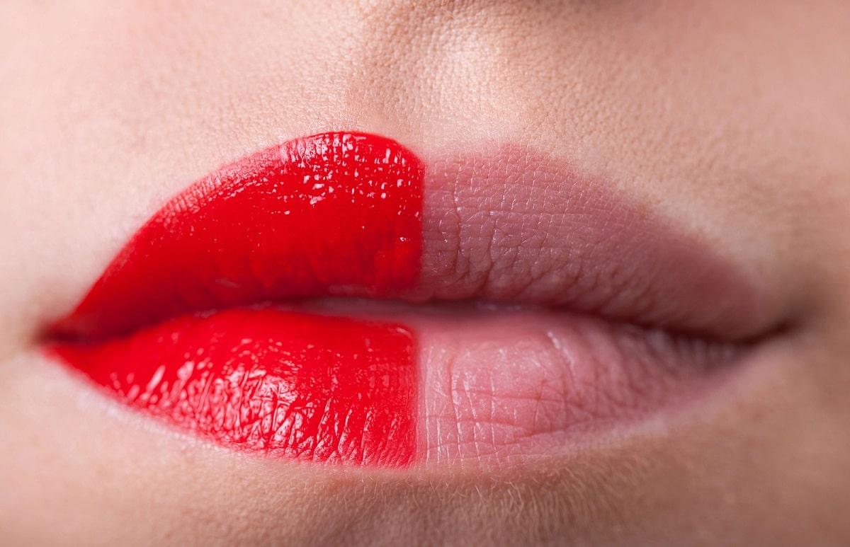 Trucos para que los labios se vean más gruesos