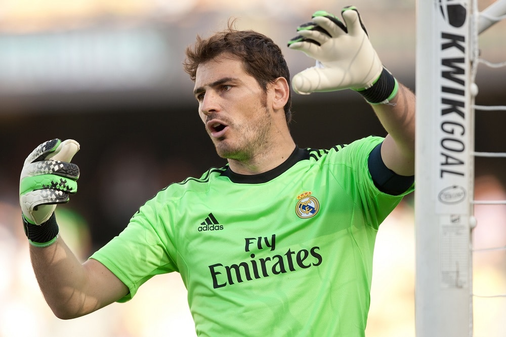 Iker Casillas se despide del Real Madrid