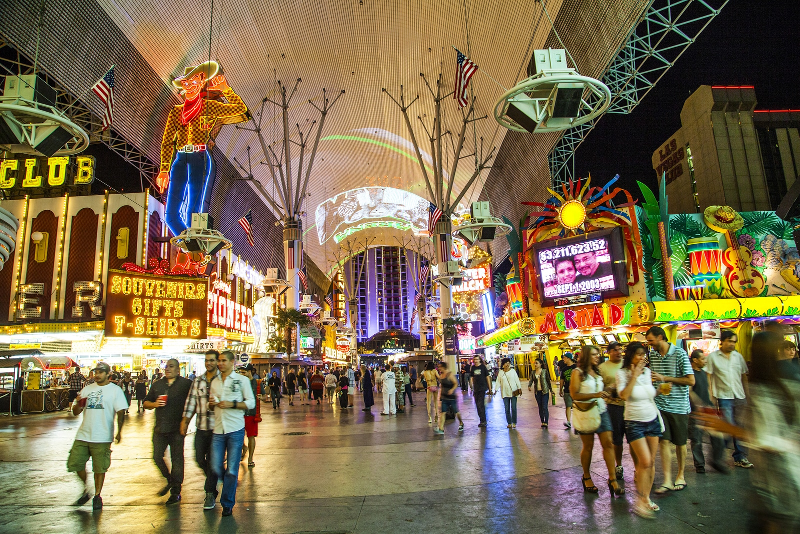 Diversion gratis en Las Vegas