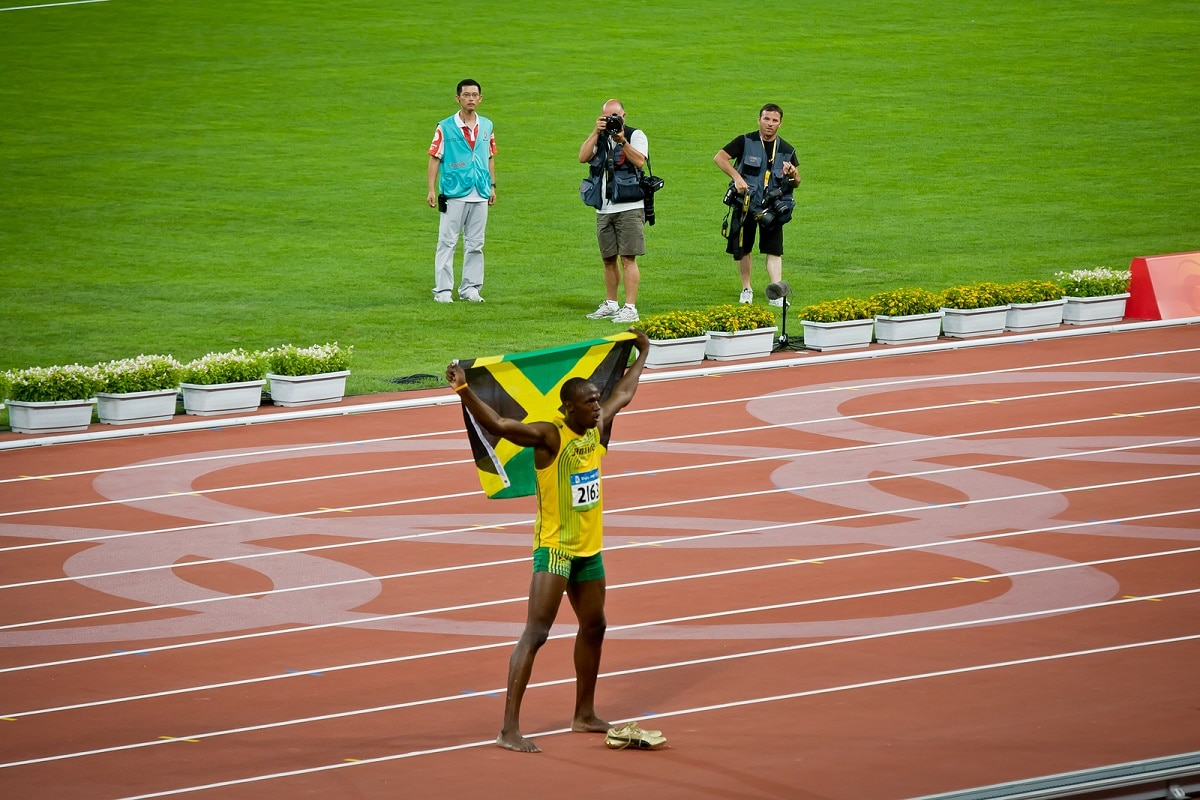 atropellan a usain bolt