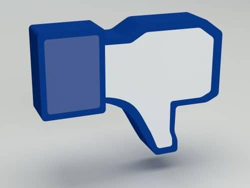 Facebook añade botón de No Me Gusta