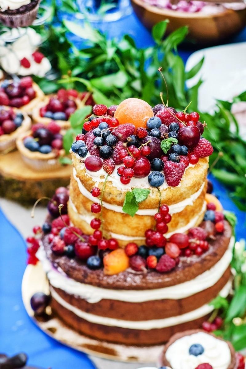 la nueva tendencia del pastel desnudo