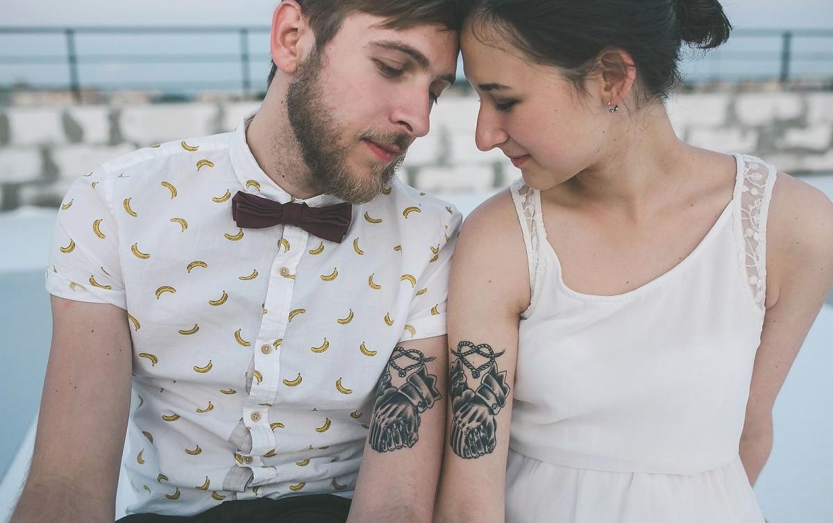 tatuajes de pareja para boda