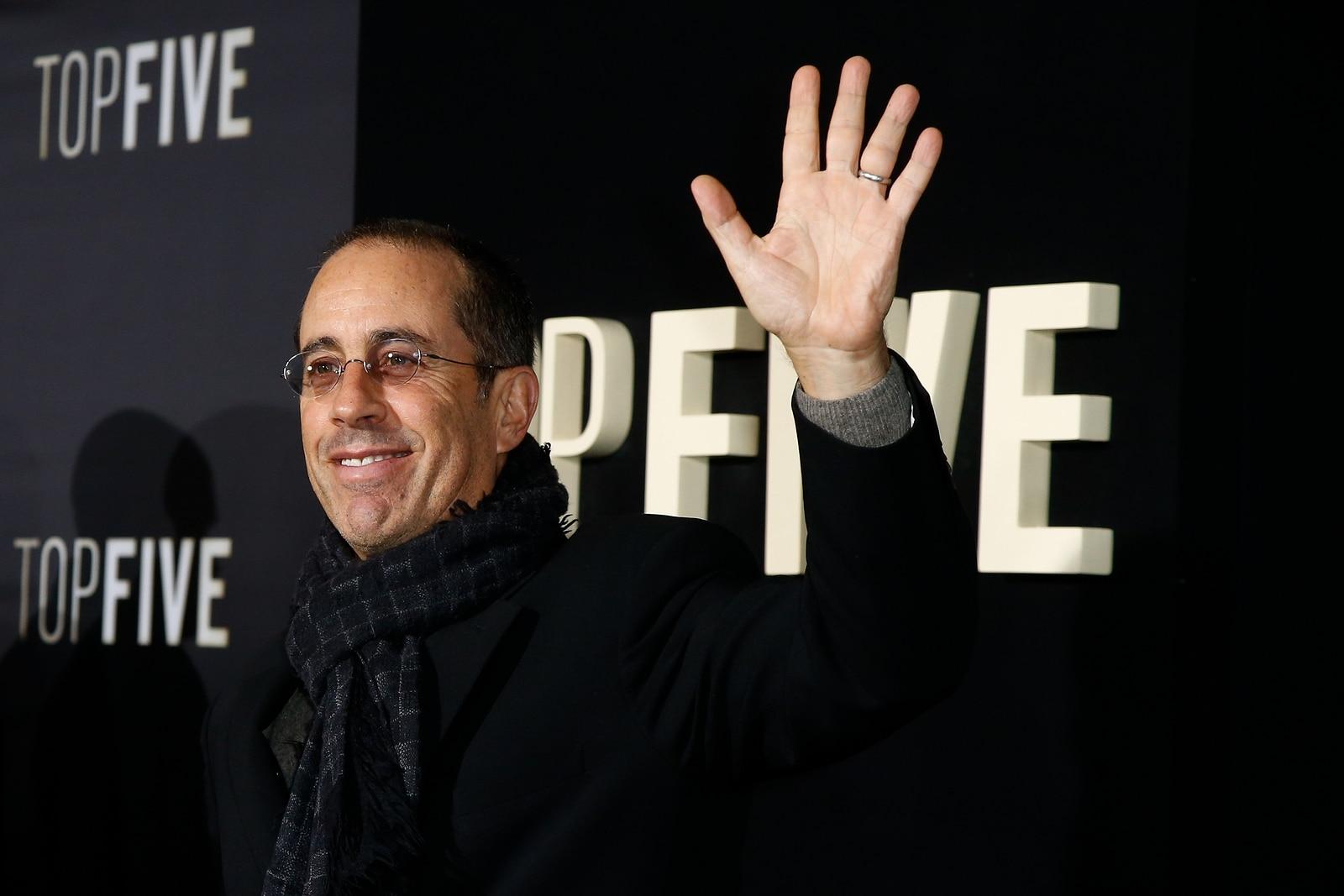 Jerry Seinfeld estará presentándose en Las Vegas este próximo diciembre