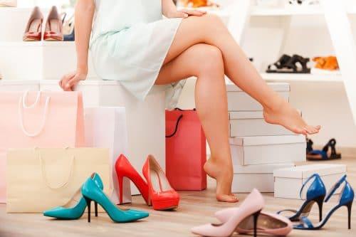 tipos de zapatos a la moda