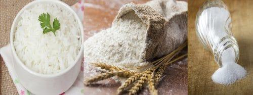 5 alimentos blancos que tienes que dejar de consumir