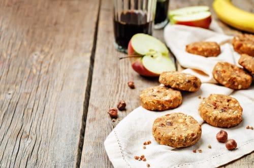 Receta Vegana: Galletas de avena, manzana y canela