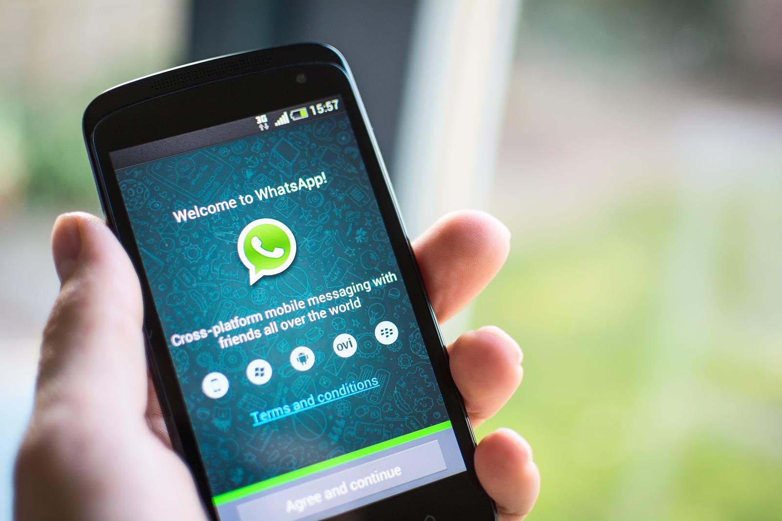Novedades de la más reciente versión de WhatsApp