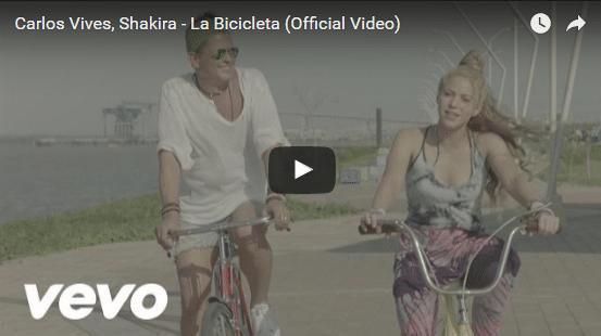 """Shakira y Carlos Vives presentan: """"La Bicicleta"""""""