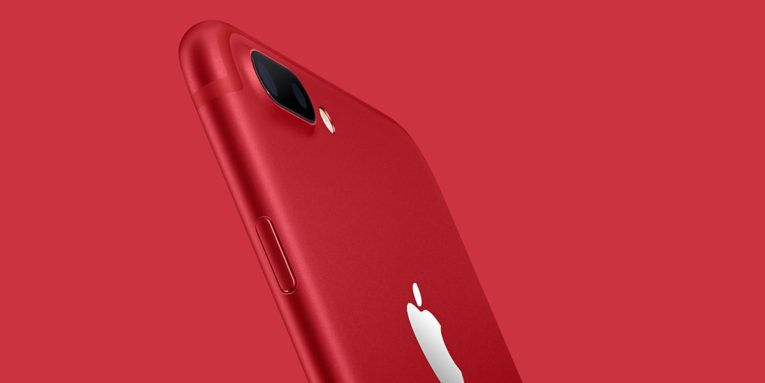 Conoce el nuevo Iphone 7 ROJO