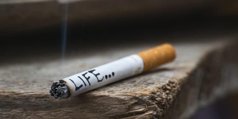 ¿Qué contiene un cigarro?