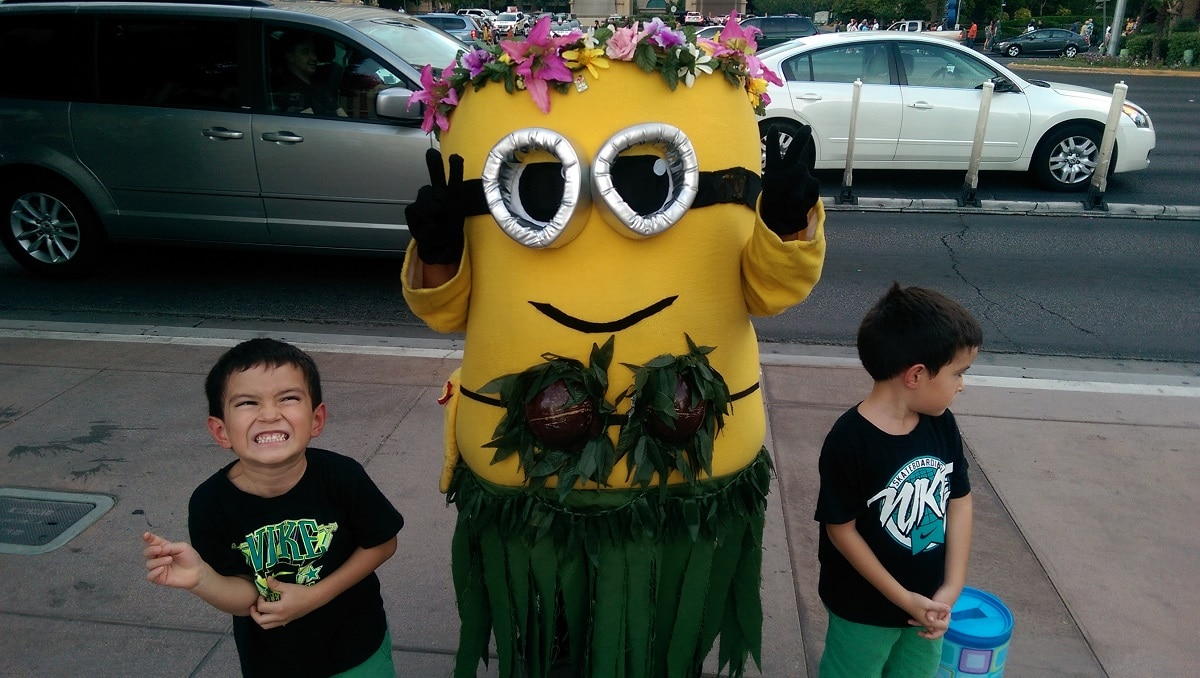 Atracciones Infantiles en Las Vegas