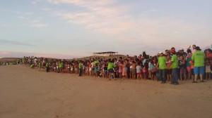 Liberación de Tortugas en Cabo San Lucas