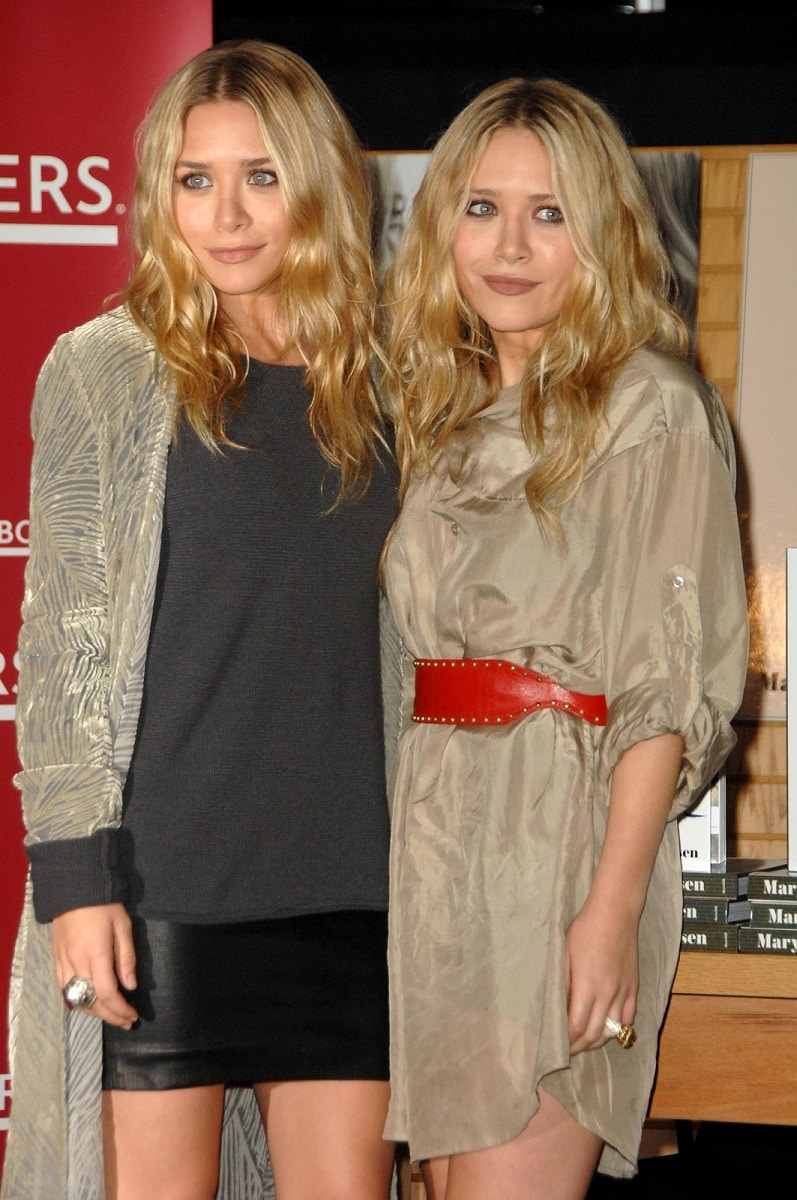 Rostro Retocado de Mary-Kate Olsen