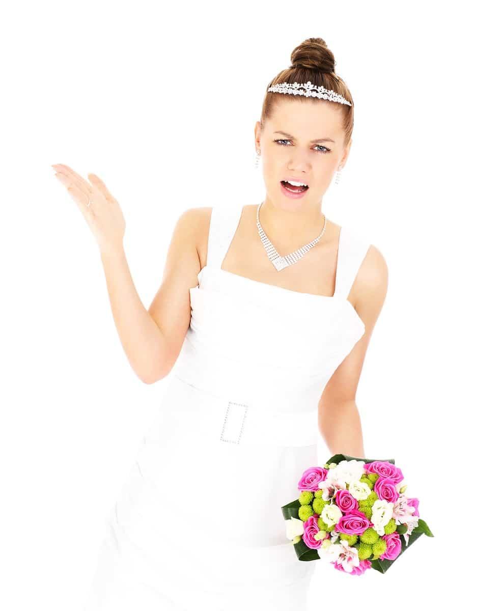 Lo que no debes hacer en una boda