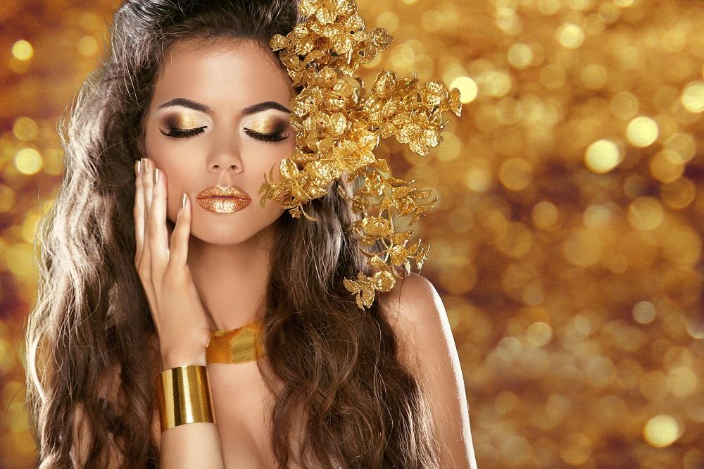 Maquillaje para Año Nuevo