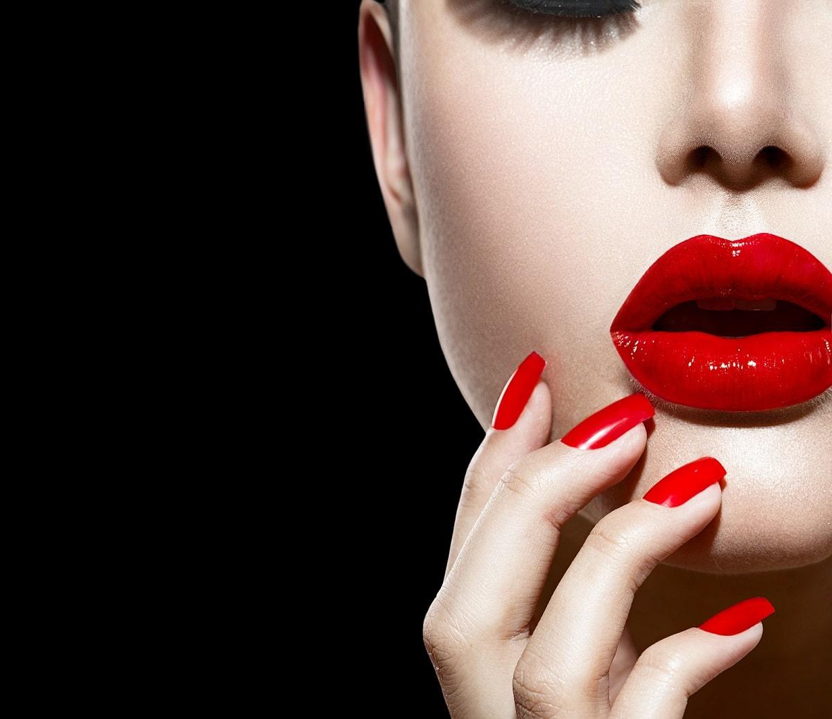 Ingredientes de los labiales rojos