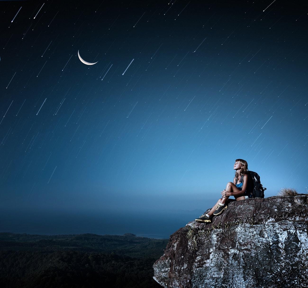 lluvia de estrellas líridas