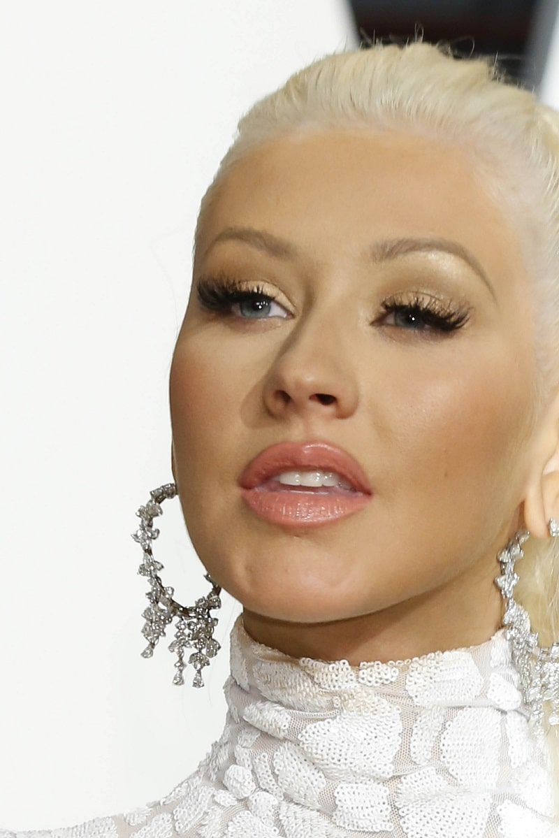 Christina Aguilera imita a Britney Spears