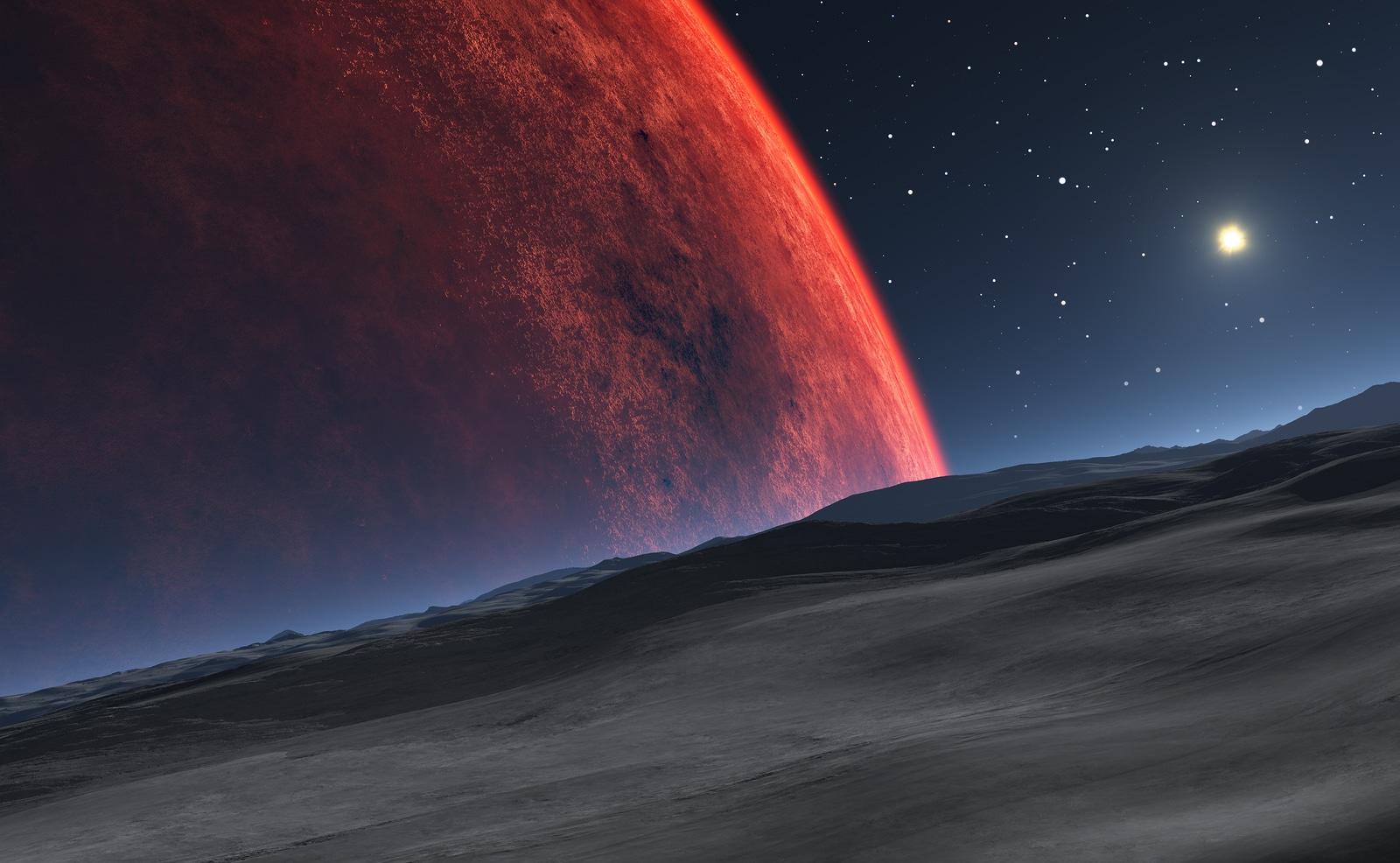 ¡Hay agua en Marte!