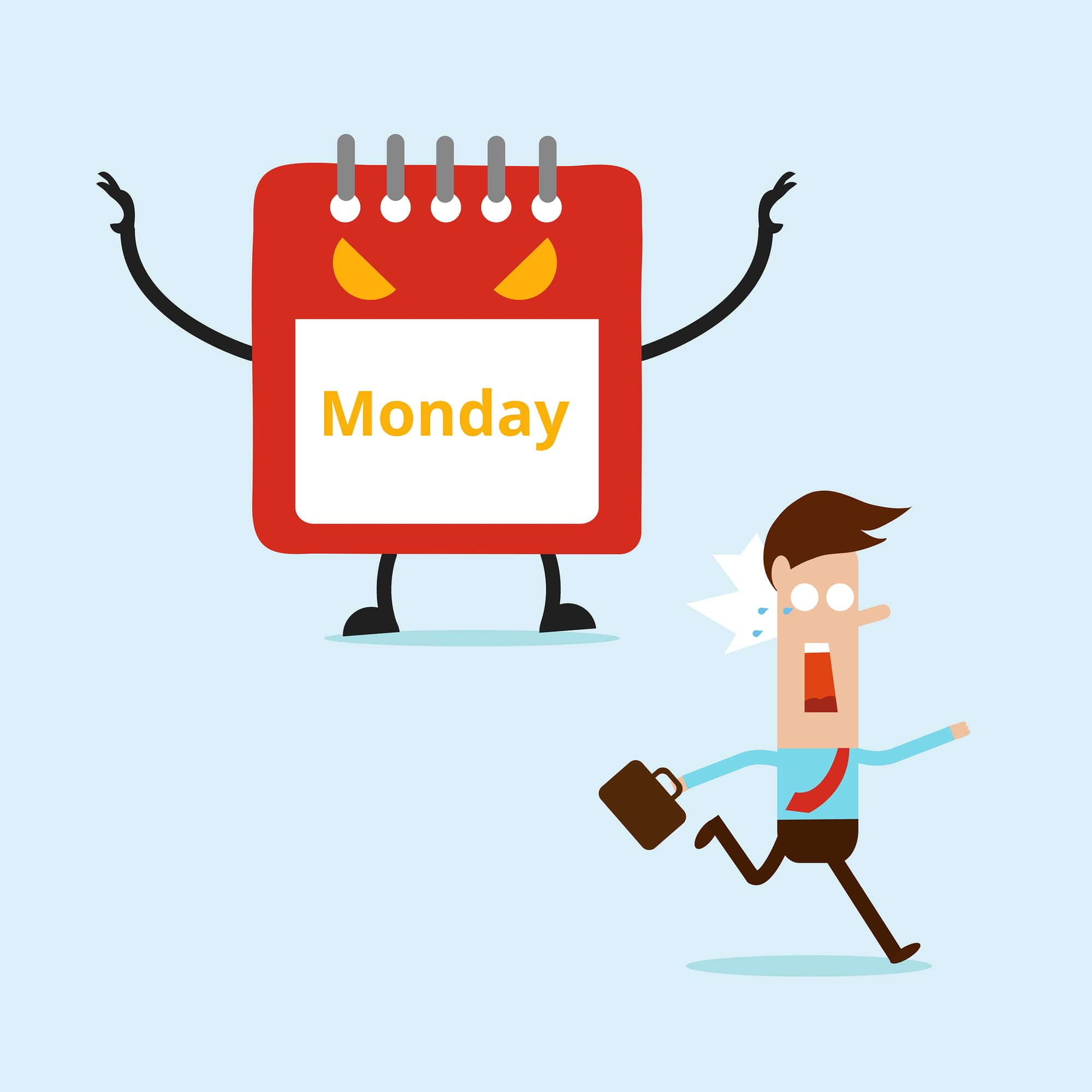 ¿Porqué odiamos los lunes?