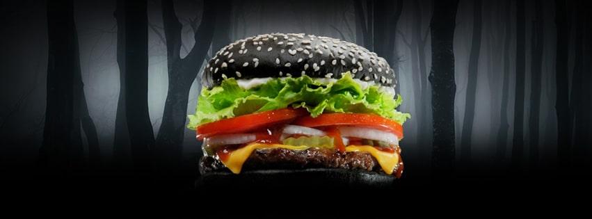 la nueva whopper negra de burger king