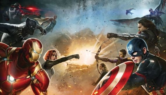 Capitán América VS Iron Man en Civil War