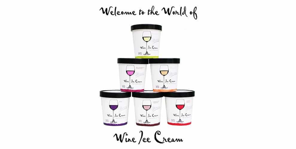 helado de vino tinto y blanco