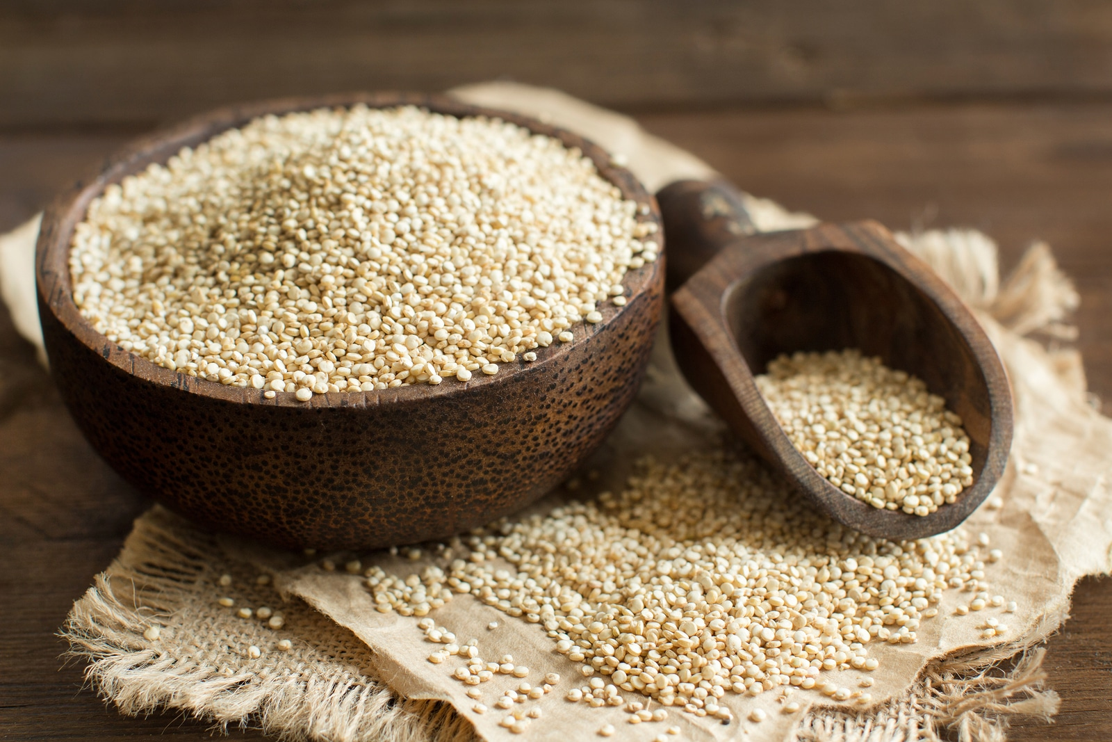 Increíbles beneficios de la Quinoa