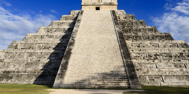 ruinas mayas en Cancún