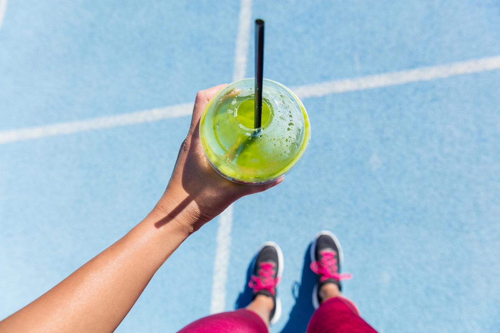 jugo verde para desinflamar el vientre