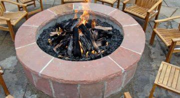 Ideas de Como Decorar tu Jardín y Prepararlo para el Verano, fogata