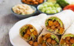 wrap vegano, alimentos veganos que no sabias, dieta vegana alimentos permitidos, alimentos veganos recetas, vegano y vegetariano, alimentos vegetarianos y veganos, veganos famosos