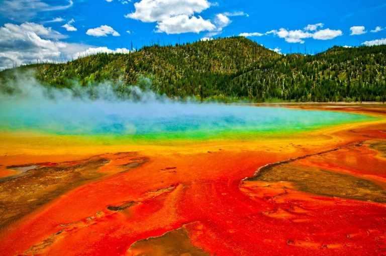 parque nacional yellowstone, patrimonio de la unesco de norteamerica,