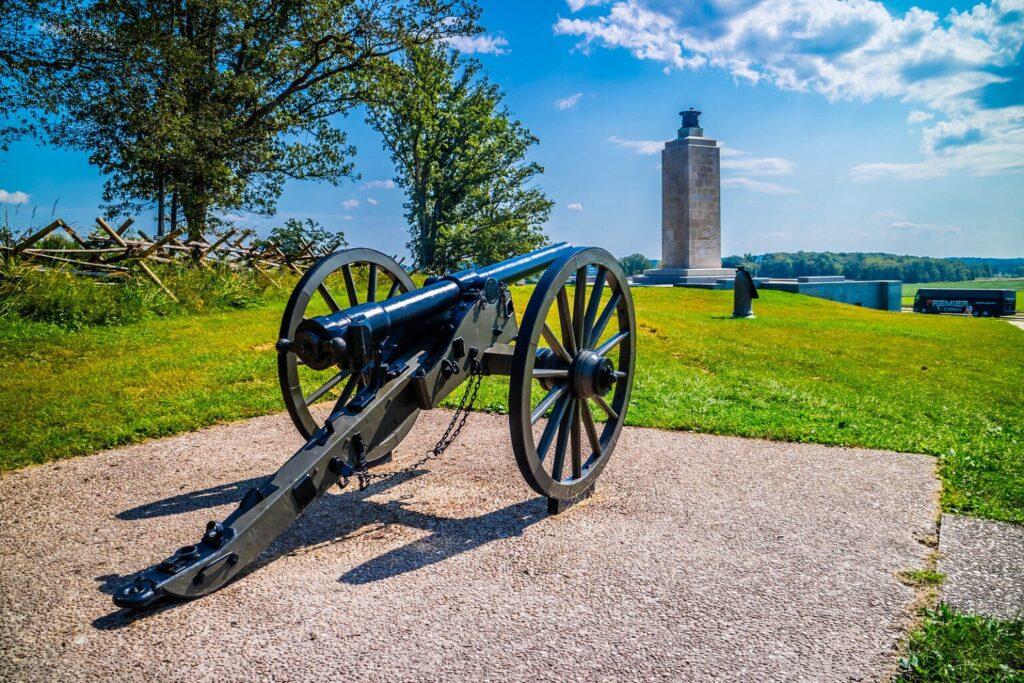 gettysburg pennsylvania, pensilvania, batalla de gettysburg, atracciones en gettysburg pennsylvania, parque nacional de gettysburg, atracciones historicas de estados unidos, lugares turísticos de estados unidos