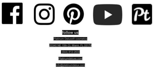 Platinum De Lux social