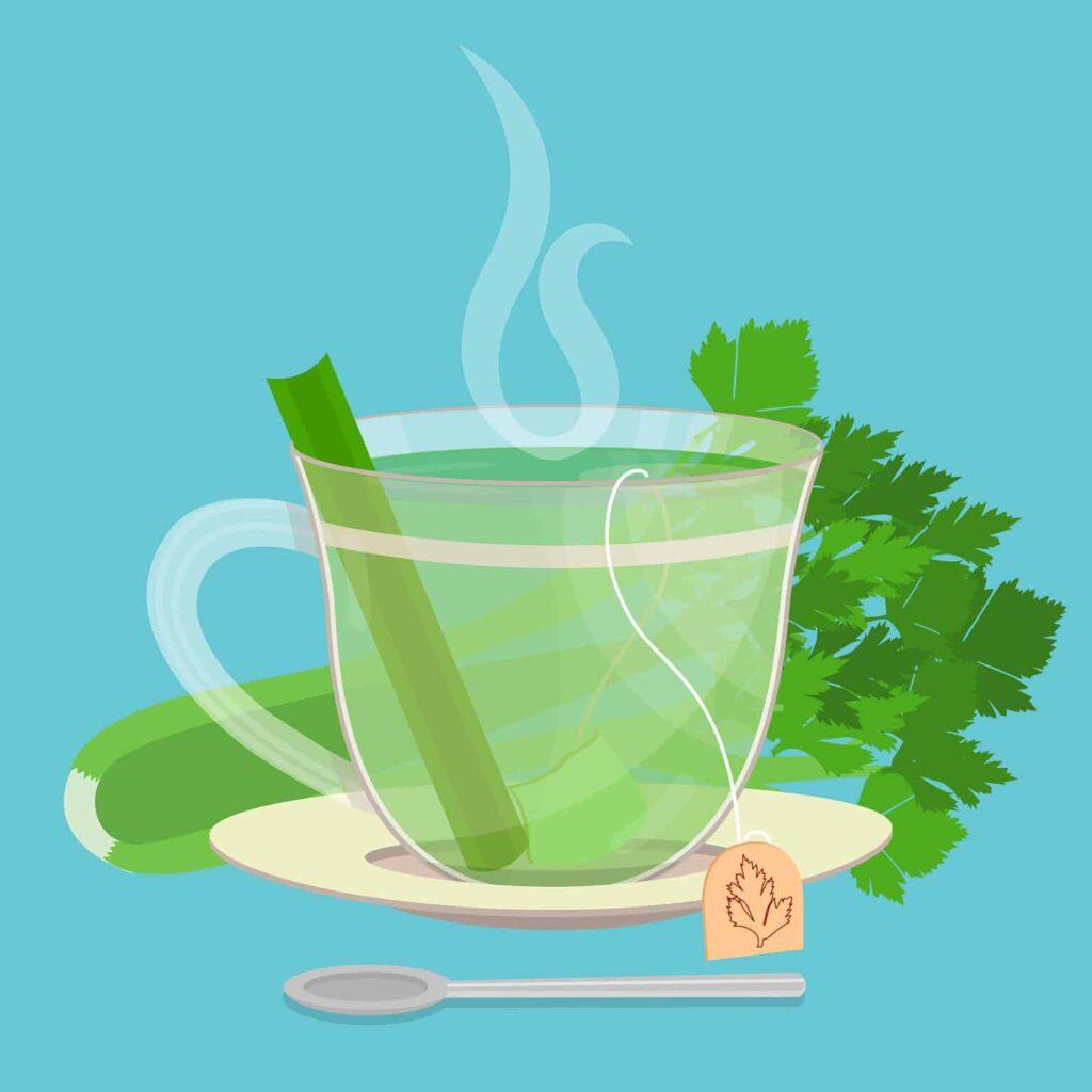té de apio, té de apio para desinflamar, te de apio para que sirve, beneficios del te de apio, beneficios del apio