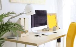 como hacer una pequeña oficina en casa, ideas para hacer una oficina en casa, como organizar una oficina en casa, ideas para home office, home office diseño de interiores, tips para home office diseño de interiores, ideas para tu oficina en casa