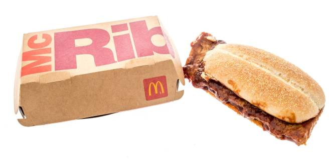 mcrib, mcrib méxico 2021, mcrib 2021, mcrib ingredientes, de que está hecho el mcrib, mcdonald's mcrib, mcdonald's